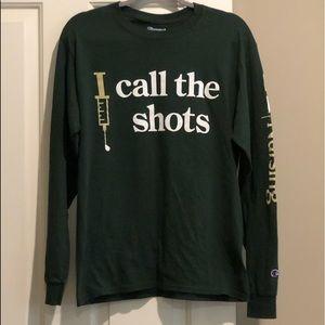 🆕UAB Nursing I CALL THE SHOTS LS T-shirt